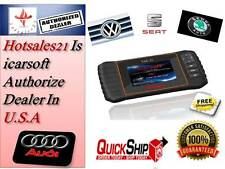 Audi VW Skoda Car Diagnostic Scanner tool SRS ABS ENGINE iCarsoft VAG II i908