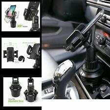 Heavy Duty Car Cup Holder Cell Phone Mount for Apple iPhone 6 7 Cradle Stand