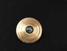 Vintage! Future Primitive Cowboy Gold Record Album Pinback Lapel Pin FS