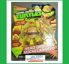 Michelangelo Head Droppin' : Teenage Mutant Ninja Turtles Basic Action Figures