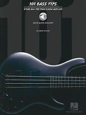 101 Bass Tips: Stuff All the Pros Know and Use Book With Online Audio