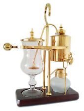 Nispira Belgium Royal Luxury Syphon balance coffee maker Gold Brand New