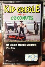 (Sealed New!) Kid Creole And The Coconuts Wise Guy RARE! 1st Press Cassette 1982