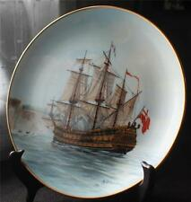 Vintage 1980 ROYAL CORNWALL Legendary Ships of Sea Series THE GASPE BAY Plate#3