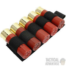 12 20 Gauge Shotgun Shell Cartridge Holder Velcro Back Airsoft Co2 Paintball Pod