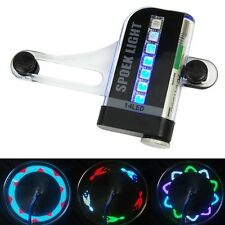 14 LED Motorcycle Cycling Bicycle Bike Wheel Signal Tire Spoke Light 30 Patterns