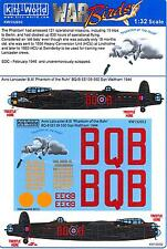 Kits World Decals 1/32 AVRO LANCASTER B.I Phantom of the Ruhr