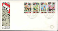Netherlands 1984 Child Welfare, Strip Cartoons FDC First Day Cover #C20276