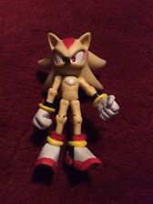 "3"" Sega Sonic the Hedgehog Super Shadow Jazwares Figure Jointed Articulated"