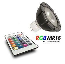 Gardenlights LED Leuchtmittel MR16  GU5.3 ,3 W RGB Farbwechsel mit Fernbedienung