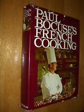 Paul Bocuse's French Cooking Cookbook Translated From French by Rossant 1977