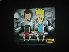 BEAVIS & BUTT-HEAD On Couch MTV 90's Cartoon TV Show Movie Official 2XL T SHIRT