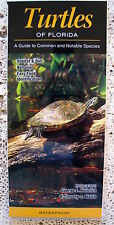 NEW! TURTLE  SEA TURTLE COLLECTIBLE WATERPROOF REFERENCE FIELD GUIDE TAXIDERMY