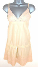 BNWT Warehouse Delicate Peach Pink Strappy Summer Occasion Top Size 12 NEW