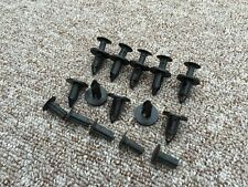 JEEP BLACK Plastic Rivet Push Type Trim Bumper Panel Clips 10PCS