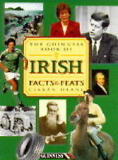 Ciaran Deane The Guinness Book of Irish Facts and Feats Very Good Book