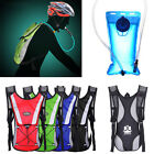 Outdoor Water Bladder Bag Backpack Hydration Packs Camelbak Hiking Camping 2L