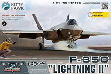 Lockheed Martin F 35 C Lightning II - 1:48 1/48 - Kitty Hawk 80132 - NEU in OVP