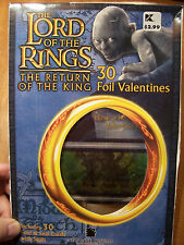 2003 LORD OF THE RINGS, 30 FOIL VALENTINES & STICKERS, MINT/Sealed