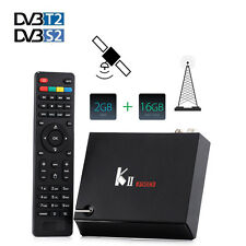 KII PRO DVB-S2 T2 Combo TV Box CCCAM Amlogic S905 Quad Core Hybrid Set Top Box