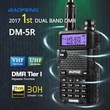 Baofeng DM-5R DMR Digital Radio Dual Band VHF/UHF Walkie Talkies + 21cm Antenna