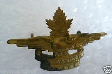 Vintage Air Cadets Canada Hat Badge maker A...ltd Montpe (Brass, Genuine*)