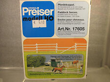 Preiser 17605 Pferdekoppel für Spur H0 Neu in OVP