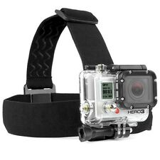 GoPro Adjustable Elastic Head Strap Mount Harness Hero4 Hero5 4/3+/3 Session 4 5