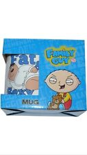 Family Guy Mug - FAT & SEXY Stewie Griffin Peter Brian New Style Bnib