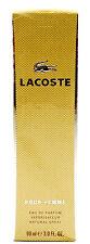 (GRUNDPREIS 155,44€/100ML) LACOSTE POUR FEMME 90ML EAU DE PARFUM NATURAL SPRAY