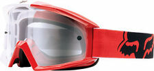 Fox Racing Main 2015 MX/Offroad 180 Race Goggles Red/Clear Lens