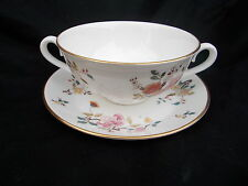 Royal Albert CHINA GARDEN New Romance Cream Soup Cup and Stand