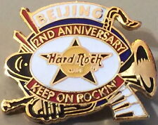 Hard Rock Cafe BEIJING 1996 2nd Anniversary PIN Instruments - HRC Catalog #1133
