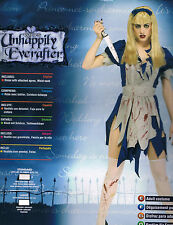 MALICE IN HORRORLAND GOTHIC ALICE HALLOWEEN COSTUME NEW SEXY ZOMBIE MED & LARGE