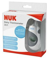 Nuk baby 2 in 1 Display LCD Bagno Classica temperatura NEONATO LED TERMOMETRO