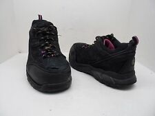 WORKLOAD Women's Cheasapeake Steel Toe ESR Work Boots Black Size 9 Used w/Defect