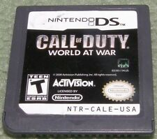 Nintendo DS Call of Duty - World at War Game - Tested – Works! Free Shipping!