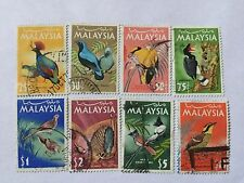 Malaysia 1965 Birds Def Complete Set Up to $10