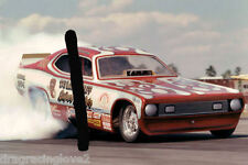 """Taylor & Wolff """"Super Duster"""" 1972 Plymouth Duster NITRO Funny Car PHOTO!"""