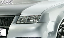 RDX Scheinwerferblenden VW Bora Böser Blick ABS Blenden Spoiler
