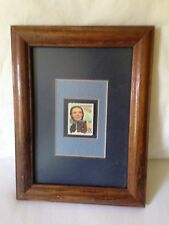 Wizard of Oz Dorothy and Toto Stamp Framed and Matted