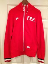 Nike Sportswear FFF French Football Federation Hooded Top Size- Medium BNWT