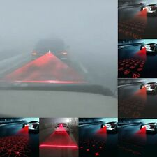 Car Anti-Collision End Rear Tail Fog Driving RED Laser Beam Caution Light Lamp