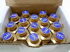 "NEW QTY 15 Tyco Flow Control  TFC Brass Pressure Relief Valve 1/2"" NPT"