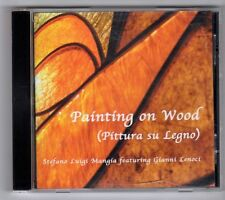 (GY420) Stefanoo Luigi Mangia Ft. Gianni Lenoci, Painting On Wood - 2009 CD