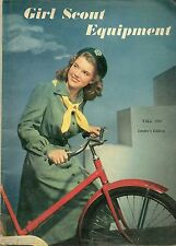 VINTAGE 1947 GIRL SCOUT EQUIPMENT CATALOG - LEADER'S EDITION - FREE SHIPPING