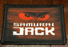 Samurai Jack Morale Patch Tactical Military Tactical Army Flag USA Hook Badge