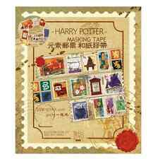 Harry Potter postage stamp Adhesive Packing masking Tape Sealing Glue Stickers