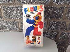 Vintage Rare 80'S Plush Floufs Il Clown Il Fantasioso Componibile#Nib OROLOGIO