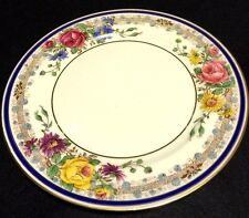 "LIMOGES DESSERT PLATES 8 3/4"" FRANCE SET OF 4 - AHRENFELDT FOR J.B. HUDSON & SON"